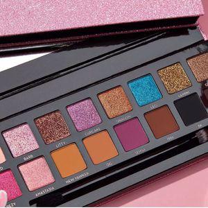 16 Farben Lidschatten-Palette ABH Amrezy Lidschatten Shimmer Matte Lidschatten Schönheit Make-up 16 Farben Lidschatten-Palette Qualität