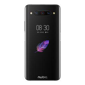 원래 누비아 Z20 4G LTE 휴대 전화 6기가바이트 RAM 1백28기가바이트 ROM 스냅 드래곤 855 플러스 옥타 코어 6.42 인치 전체 화면 48MP 지문 ID 휴대 전화