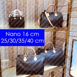 M41111 NANO SPEEDY bandoulière 25 30 35 40 Designer Tote Top Moda Donna spalla manico Luxury Croce Body viaggio borsa della borsa cm