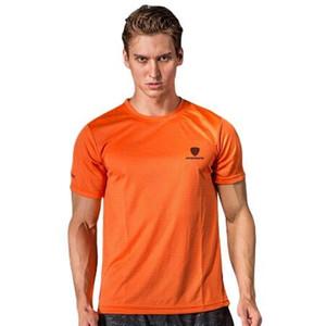الرجال تنس تي شيرت الرياضة س الرقبة سريعة الجافة تنفس قميص تشغيل الريشة الذكور قصيرة الأكمام تي شيرت قمم المحملات الملابس