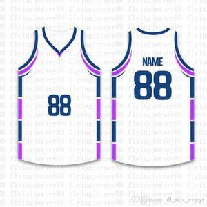 Top personalizado Basketball Jerseys Mens bordado Logos Jersey frete grátis por atacado baratos qualquer nome de qualquer número Tamanho S-XXL 23