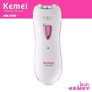 Kemei KM-290R Electric Lady épilateur épilateur gros beauté Shaver DHL Livraison gratuite