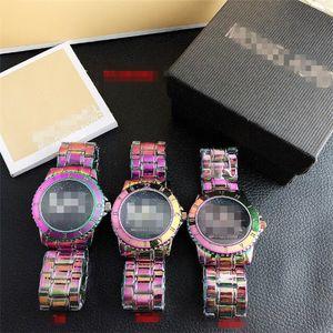 Mens Watches Luxury Womens Watches F MìchaêlKòrs Quartz Calendar Wristwatch Stainless Steel Lovers Men Women Watch