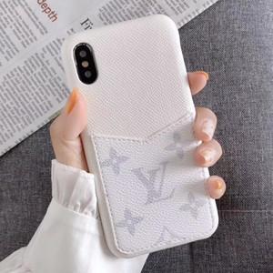 Mode Paris anzeigen Große Telefon-Kasten für iphone 11 Pro Max Xsmax X XR 7 8 sowie Top-Qualität aus echtem Leder-Telefon-Kasten