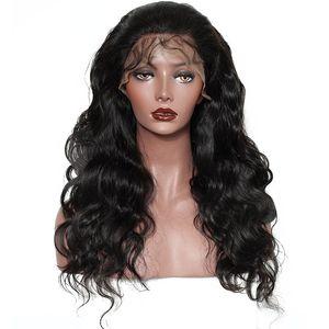 باروكات الشعر للنساء الأسود الطبيعي جسم موجة يشبع شريط الإنسان 180٪ قبل التقطه البرازيلي الباروكة مع شعر الطفل ريمي