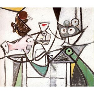 Decorative oil paintings wall art Naturaleza muerta sobre la mesa Arshile Gorky abstract picture Handmade home decor