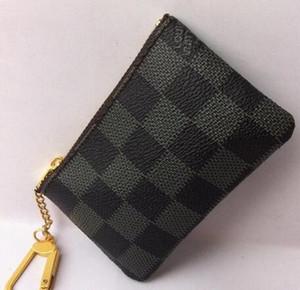 Kişilik moda yüksek kaliteli 7 renk fermuar değiştirme saklama torbası erkekler ve kadınlar lüks Retro eğilim taşınabilir bozuk para cüzdanı.