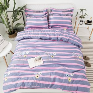 Bedding Set Twin Full Queen Size Single Bed Duvet Cover Sets Print Bed Linen Quilt Covers XF745-12