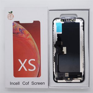 RJ Tianma LCD TFT Screen for iPhone XS LCD Display Touch Screen Digitizer Repair Part Complete Assembly Replacement for iPhone XS