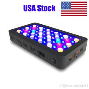 Dimmerabile LED Acquario Luce 165W, Full Spectrum di pesci della barriera corallina acqua dolce e salata Marine Tanks alloggiamento di alluminio High Grade