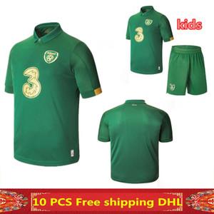 무료 배송 2020 아일랜드 홈 축구 유니폼 (20) (21) 아일랜드 남자와 아이 키트 축구 축구 유니폼