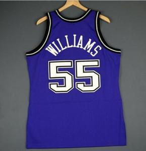 Benutzerdefinierte Männer Jugend Frauen Jahrgang Jason Williams Mitchell Ness 98 99 College Basketball-Jersey-Größe S-4XL oder benutzerdefinierten beliebigen Namen oder Nummer Jersey