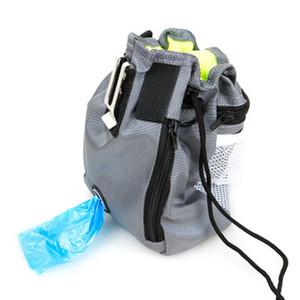 Pet Training Funktionstasche Pet Snack Bag Designs Zwei-In-One faltbare Tasche Outdoor tragbare Taschen Hund liefert