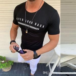 Fashion Fitness O Collo Mens magliette estate manica corta Magro Raffreddare Mens Tops Boy Tees Designer