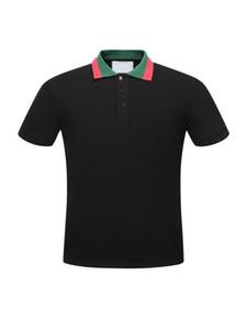 Moda e Professional Estate Polo medusa camicia di polo delle magliette degli uomini della camicia di tendenza per l'uomo le donne High Street Top Tee nuovo arrivo