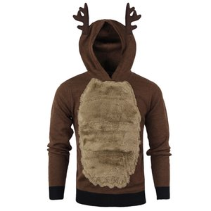 Pop Vogue Fashion Style Christmas Sweater Sunfree Christmas Main Product Men Elk Cosplay Sweaters Cool Boy Worth Having 3L71