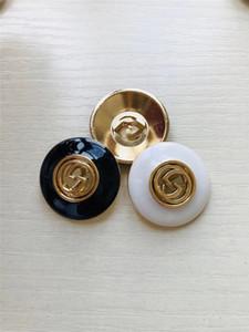 정장 남성 코트 Botones DIY 윈드 의류 장식 버클 바느질 23mm에 대한 최고 브랜드 패션 라운드 수지 생크 버튼