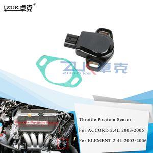 Sensor de posición ZUK nuevo de alta calidad auto del coche del acelerador TPS para Honda Accord CM5 2003 2004 2005 2.4L elemnt 2003-2006 2.4L