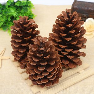Christmas Decorations of 10PCS Lot 1-15cm Natural Pinecone Pendant Creative DIY Props Dried Pine Tower Pinecone