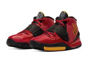 Las mejores mujeres Kyries Niños 6 Bruce Lee de los hombres zapatos de baloncesto Irving 6 EE.UU. Comet medianoche roja Armada zapatillas de deporte con la caja Tamaño US4-12