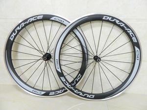 Vendite Dura Ace C50 bici del carbonio carbonio da 50 mm completa montate ruote bordo della superficie della lega di alluminio carbonio freno
