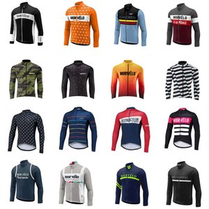 Spring autum Morvelo team Cycling long Sleeves jersey Men Mtb Bicycle Clothing Maillot Ropa Ciclismo Bike Clothes V62945