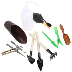 13pcs Mini Garden Hand Tools Trapianto Strumenti succulente in miniatura di impianto Giardinaggio Tool Set