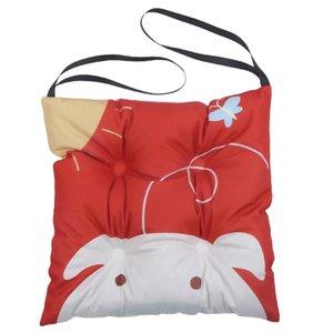 Karikatür Sandalye Anaokulu için Bağları Pad Kalın Yıkanabilir Pamuk Yastık / Pad Koltuklar