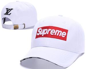 Vente chaude marque mens designer chapeaux snapback casquettes de baseball luxe dame de mode chapeau été camionneur casquette femmes causal balle casquette de haute qualité