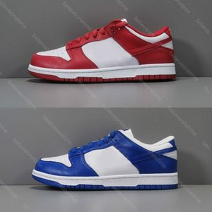 Best Quality Dunk SB Low SP University Red St.Johns 2020 Men Women Running Shoes Varsity Royal Blue Kentucky Designer Sports Sneakers 5.5-11