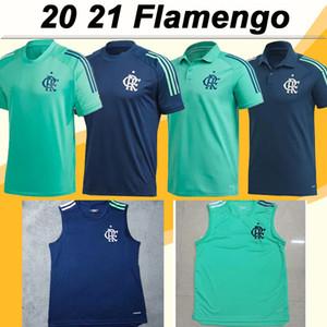 20 21 Фламенго зеленый синий с коротким рукавом Поло мужские футбольные майки жилет зеленый синий футбольная рубашка для взрослых униформа Camisetas de Futebol