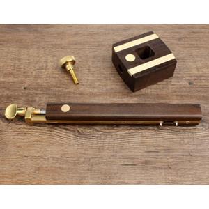 Travail du bois de précision T-carrés Outils de mesure + bois Scribe mortaise Gauge