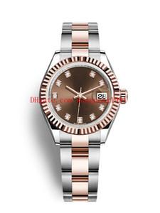 12 Ladies estilo 31 milímetros Datejust relógios 279160 279165 279175 278275 279166 279178 278245 Asia 2813 Movimento de Mulheres Automatic Watch Watches