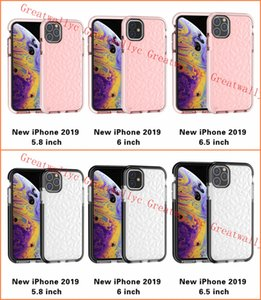 For 2019 NEW Iphone 11 XR XS MAX X Case Soft Silicone Shockproof Cover Protector Crystal Bling Glitter Rubber TPU Clear Case