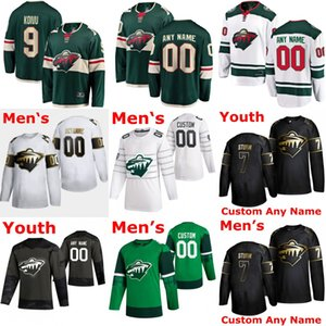 Minnesota Wild Jerseys 11 Zach Parise Eric Staal 46 Jared Spurgeon 9 Mikko Koivu 24 Matt Dumba12 Staal Ice Hockey Jerseys Custom Stitched