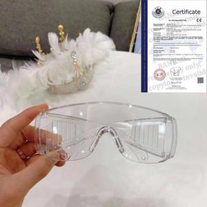 5 pcs Lunettes de sécurité lunettes de sécurité protection des yeux Anti-poussière, Anti-pulvérisation Lunettes transparent oculaire chimique Gafas Proteccion Lunettes