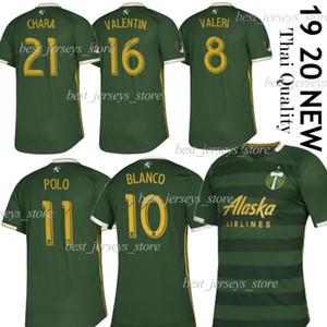 판매에 MLS 포틀랜드 팀 버스 홈 녹색 축구 유니폼 19/20 MLS 축구 클럽 2019 리그 경기 축구 셔츠 맞춤형 유니폼