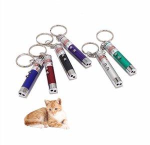 Лазерная смешная ручка для кошек New Cool 2 In1 Красная лазерная указка Ручка с белым светодиодом Детская игра СОБАКА