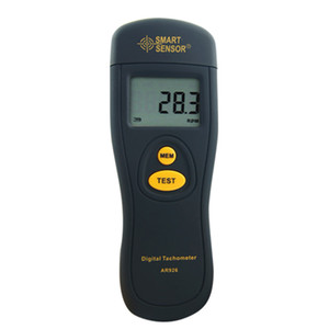 Freeshipping 디지털 레이저 타코미터 AR926 2.5 ~ 99999RPM LCD 광전 타코미터 테스트 미터 속도계