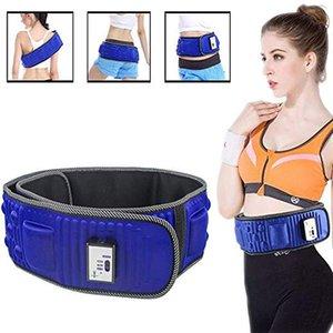 2020 Slimming Belt X5 Времена Электрические вибрации Фитнес Массажер машины Похудеть Сжигание жира Брюшной мышцы Стимулятор для Hip