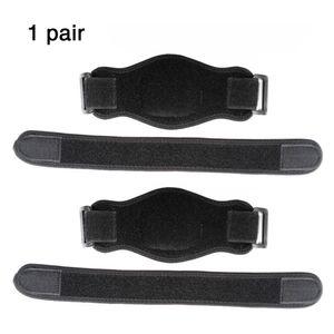 1 paio Guardia di protezione inarcata Golfer Pain reliefer regolabili sportivo ergonomico Elbow compressione Pad assorbimento del sudore