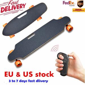 Envio dos EUA Europa Four Wheel elétrica skate remoto sem fio controlador Scooter Placa Board hoverboard monociclo