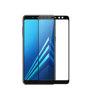 Full Cover DHL 5D vetro temperato per Samsung Galaxy A8 A6 Inoltre J4 J6 J8 2018 J2 Pro schermo J7 Duo Protector completa colla adesiva Film
