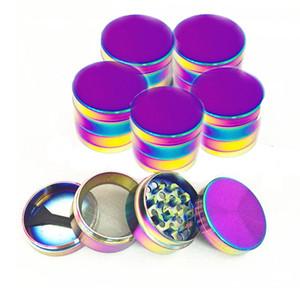 Smerigliatrice per smerigliatrice in metallo rotonda 4 cm 4 cm Zinc Magic Color Machine Tritaghera per colorazione arcobaleno BH1861 CY