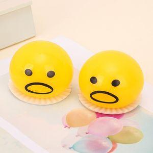Ленивый блевотину Toy желток рвотой желток брат пинч весело ленивый яйцо роман игрушка