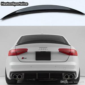 S4 HK Стиль Карбоновый Задний Спойлер Крыло для Audi A4 B8.5 S4 4Door 2013 ~ 2016