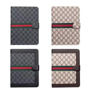"For ipad pro 12.9 2020Air3 pro10.5 10.2"" ipad2 3 4 5 6  mini1 2 3 4 Designer Luxury Classic Vintage Leather Holder ipad Case mini5 mini4 A11"