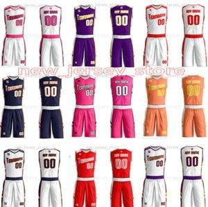 Cualquier nombre de personalizar cualquier camisa hombre número señora de las mujeres de los niños jóvenes baloncesto de los muchachos jerseys del deporte como los cuadros ofrecerle ZZ0110