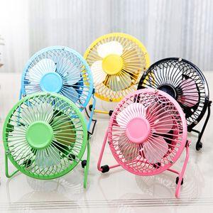 "Mini Posto de mesa USB Fan 4/6"" Desktop Fan-Powered USB portátil Cooling Fan rotação de 360 graus"