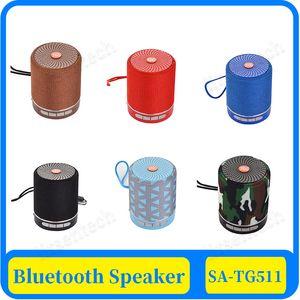 100XTG511 Haut-parleur portable Bluetooth sans fil Soundbar basse extérieure Mini Subwoofer Box Musique MP3 Boombox Support de carte USB TF AUX bas prix